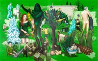 hideout (diptych) by seraphine pick