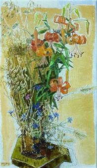 bouquet de fleurs by edouard-georges mac-avoy