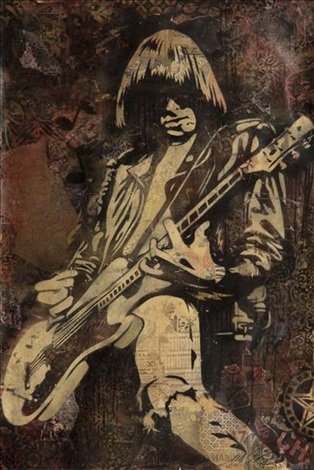 johnny ramone by shepard fairey