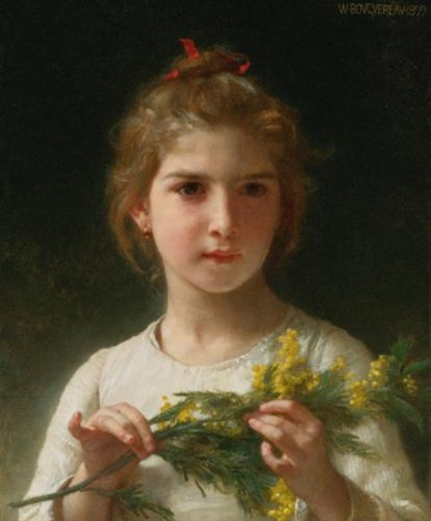 mimosa by william adolphe bouguereau
