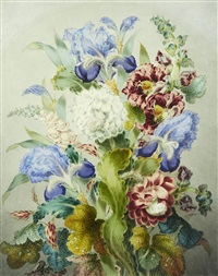 still life of flowers by james holland
