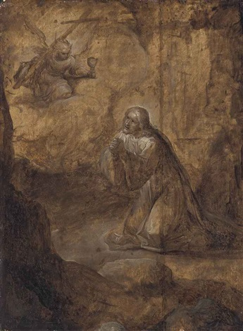 the agony in the garden by frans francken the younger