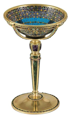 cup by louis comfort tiffany