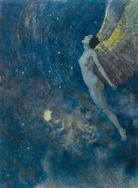 israfel by edmund dulac