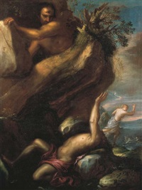 polyphemus and galatea by agostino santagostino