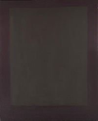 untitled (plum and dark brown) by mark rothko