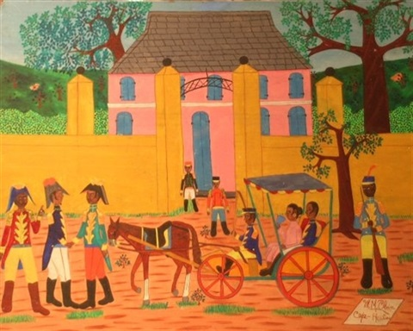 cap haitian by michel m obin
