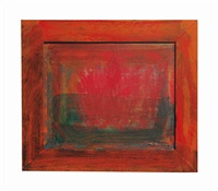 fire in venice by howard hodgkin