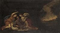 loth et ses filles by francesco albani