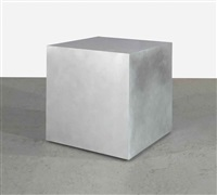 shaking cube by jeppe hein