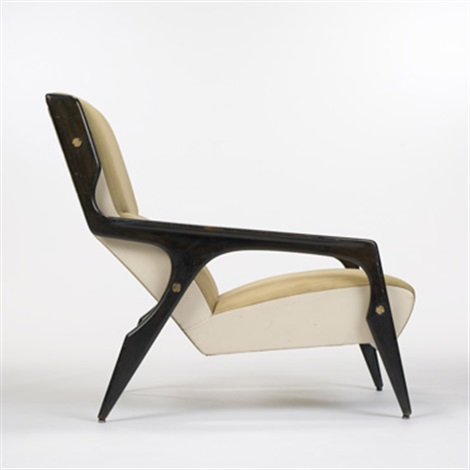 Lounge Chair From The Hotel Parco Dei Principi, Rome By Gio Ponti