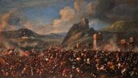 choc de cavalerie (pair) by antonio calza