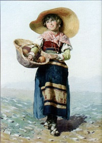 the orange seller by d. de angelis