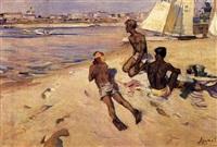 sur la plage by vassili arapov
