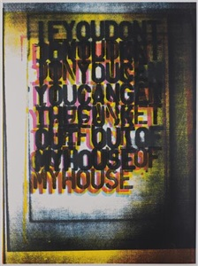 artwork by christopher wool
