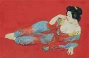woman of under-kimono by kainosho tadaoto