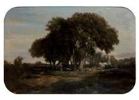 paysage animé by louis-auguste auguin