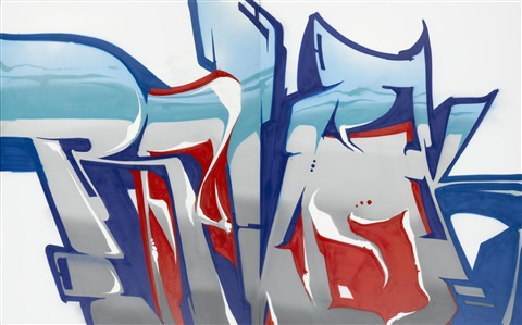 untitled diptych by revok