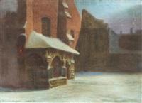 kościół św. barbary w krakowie by stanislaw poraj fabijanski