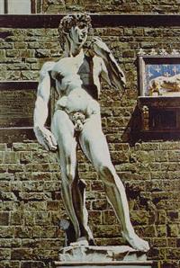 michelangelo's david by audrey flack