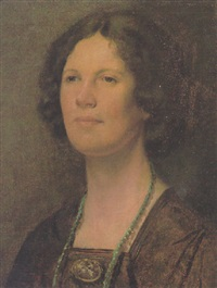 portrait of dorothy hutton by francis ernest jackson