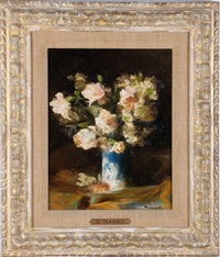 flowers by édouard manet