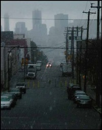 Franklin St., Vancouver - Looking west, 2009