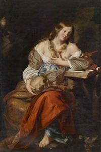 die heilige maria magdalena by nicolas regnier