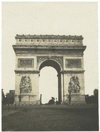 arc de triomphe de l'étoile by françois auguste renard