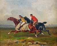 lads à l'entraînement by james alexander walker