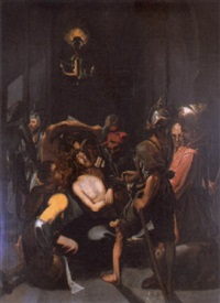 la flagellation du christ by arnold (aert) mytens