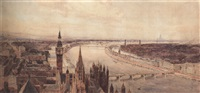 a proposed scheme for remodelling the banks of the thames by harry robert newton