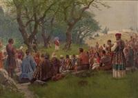 die bergpredigt by franz xaver jung-ilsenheim