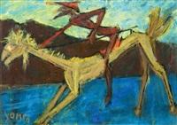 don quixote by marcel janco