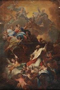 apoetosis de un santo by corrado giaquinto