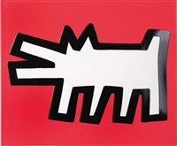icons #3 barking dog by keith haring