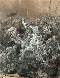 bitwa z tatarami by elviro michael andriolli