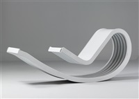 dondolo totale rocking chair by franca stagi and cesare leonardi