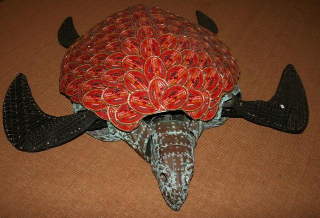 turtle by michael tuffery