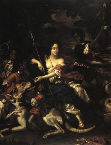 portrait of hortense mancini, duchess of mazarin by benedetto gennari the younger