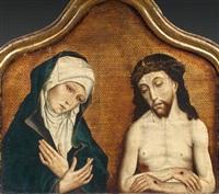 la vierge et le christ de douleur by simon marmion