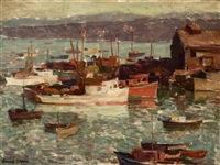 good harbor, monterey by frank harmon myers