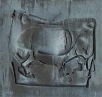 stier-relief by franz fischer