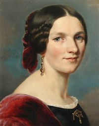 portrait of a noble woman by franz xaver winterhalter