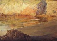la gruta de las gaviotas by francisco llorens y diaz