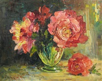 peonies by rudolph negely
