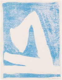 summertime in italy (blue) by robert motherwell