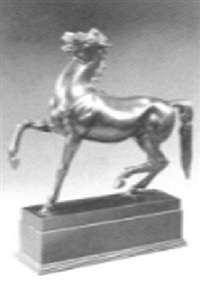 a pacing horse by otto hofner