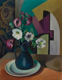 petunias by blanche lazzell