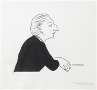 elizabeth bowen by nicolas bentley